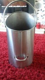 Metal coal bucket