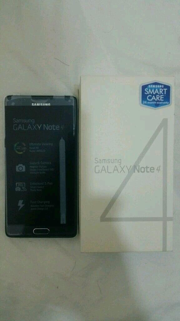 Samsung Galaxy Note 4 32Gb Black Color Unlocked