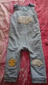 George dungarees/ bedwear 12-18 months