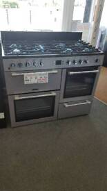 New graded Leisure 110cm dual fuel range cooker with 12 months guarantee