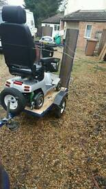 Mobility scooter tralier with ramps oap disabled aid