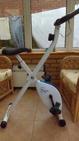 Unused Davina McCall Exercise Bike (fold-up)
