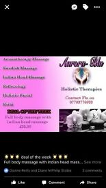 Aurora blu holistic therapies