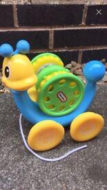 snail toy - little tykes