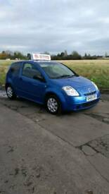 05 CITREON C2 1.1 71,000 MILES M.O.T 6th NOVEMBER 2018