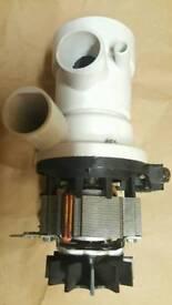 Indesit washing machine drain filter pump