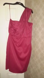F & f collection red dress