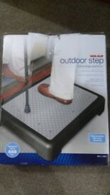 Outdoor step - new