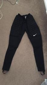 MENS GENUINE PERFECT CONDITION NIKE GOALKEEPER PANTS