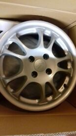 "15"" Excite alloy wheels 4 x 100 fitment"