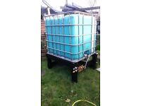 Water BuTt 1000 Litre Ideal for rain water harvesting