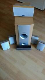 Pioneer Home Theater Speakers model AXX 7107
