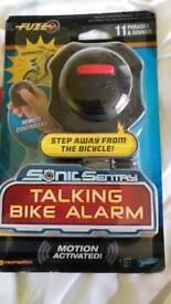 Kids talking bike alarm