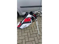 Dunlop FP5 golf irons and Fazer bag