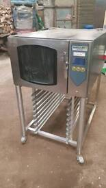Bakery equipment. Vanguard 4 tray bake off oven.