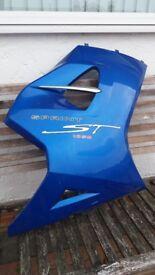 2005 Triumph Sprint 1050 ST fairing - Caspian blue RIGHT HAND SIDE