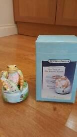 Beatrix Potter musical ornament