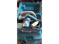 One of several 110v power tools for sale. Makita Circular Saw. 5704r. 1200w. £60. Not used much