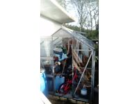 Greenhouse for sale 8x5 £100