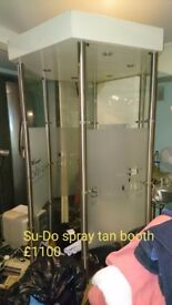 Su-Do Spray Tanning Booth