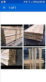 500 piece batch of reclaimed timber planks