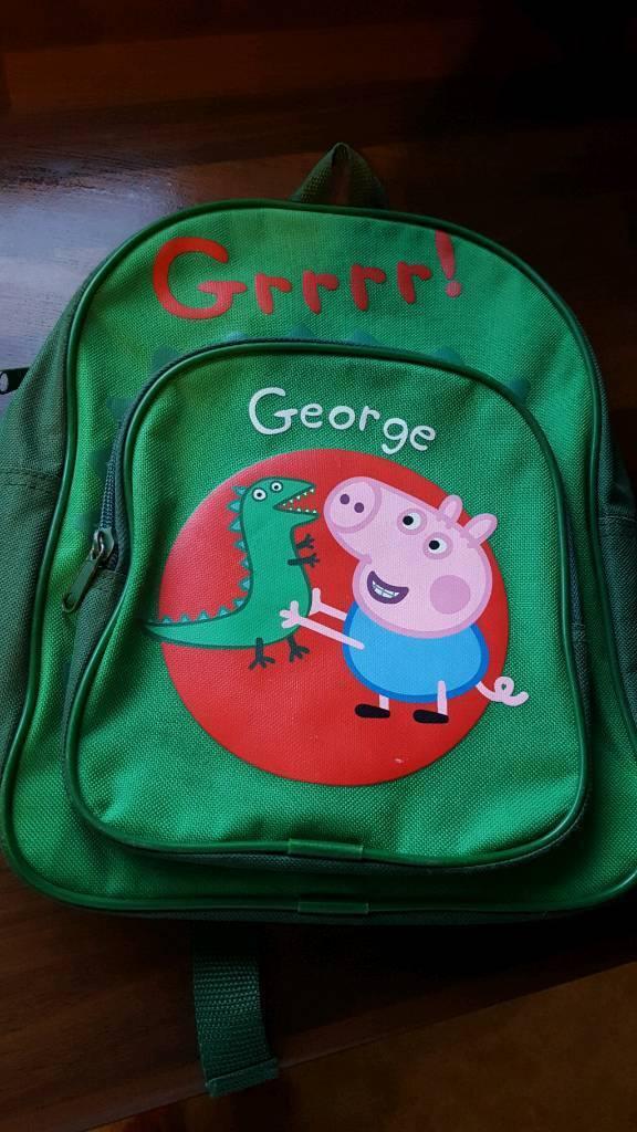 George pig backpack