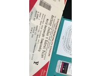 SUPER ANTHONY JOSHUA VS CARLOS TAKAM BOXING TICKETS - FLOOR SEATS - 28.10.2017 - *BELOW FACE VALUE*