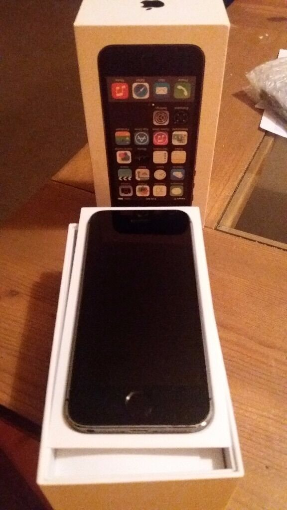 Iphone 5S. 16gbin Greenock, InverclydeGumtree - Iphone 5S. 16gb Slate grey on Vodaphone. Great condition. has been in case with screen protector. comes with original box no charger or earphones Just got upgrade reason for sale. Greenock
