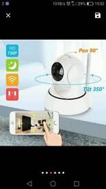 WiFi HD CAMERA 720p Wireless Baby, Home, Shop, NIGHT VISION, Brand new.