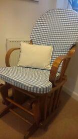 Baby nursing glider chair