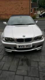 BMW 325 CI CONVERTABLE 51 PLATE