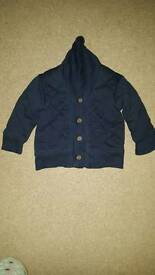 6 - 12 months navy gap jacket