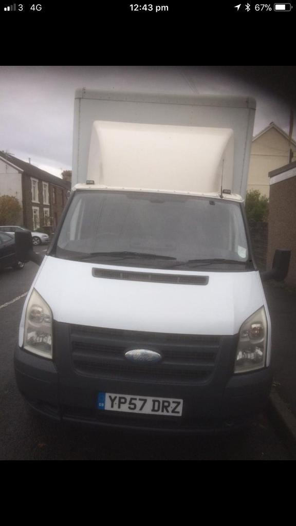 Ford transit Luton van MWB with tail lift clean body 2008 with 152k mileage