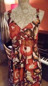 beautiful maxi dress size 12