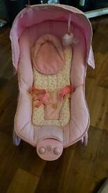 Pink Baby Vibrating Musical Chair