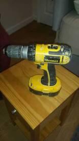 De Walt cordless power drill