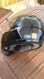 Shoei motorbike helmet few scratches but in tact