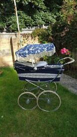 VINTAGE Gorgeous Marmet Pram and Canopies