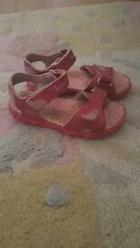 Girls timberland sandals