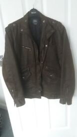 New Mens Designer G/Star Raw Jacket Size XL.