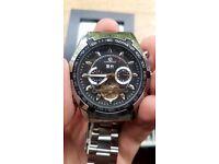 Forsinning Men's Stainless Steel bracelet watch