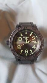 Nixon 51-30 Titanium Gunmetal/Luminous Watch