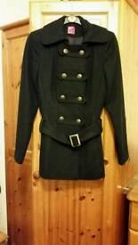 Dark blue Navy coat size 6 Ex.Cond.