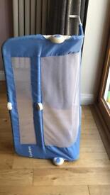 Bed Guard blue and white - Lindam