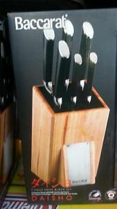 Baccarat Daisho 7 Piece Knife Block Set. Underwood Logan Area Preview