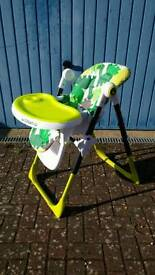 Cosatto Noodle Highchair in C-Rex