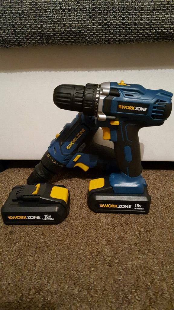 Workzone Cordless Drill 215 2 In Bognor Regis West Sussex