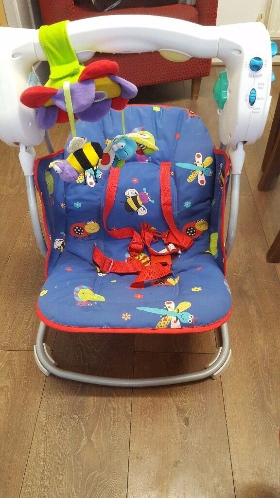 bruin swinging baby chair