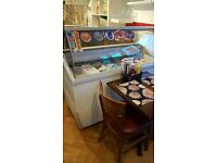 Ice Cream Scoop Display Freezer 7 Napoli Pan