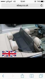 BMW 3-Series convertable wind deflector